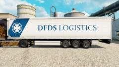 Скин DFDS Logistics на полуприцепы