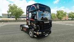 Скин Crasy Trans Logistic v2.0 на тягач Scania
