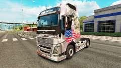 Скин U.S. Army на тягач Volvo