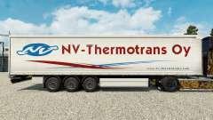 Скин NV-Thermotrans Oy на шторный полуприцеп