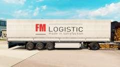 Скин FM Logistic на полуприцепы