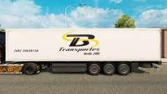 Скин TB Transportes на полуприцепы