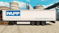 Скин Papp Logistics на полуприцепы