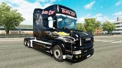 Скин Black Cat на тягач Scania T