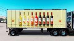 Скин E. & J. Gallo Winery на малый полуприцеп