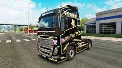 Скин John Player Special на тягач Volvo