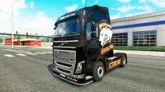 Скин Virtus.pro на тягач Volvo