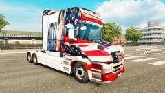 Скин Rocky USA на тягач Scania T