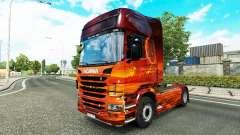 Скин Space на тягач Scania