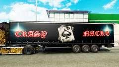 Скин Crasy Trans Logistic v2.0 на полуприцепы