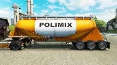 Скин Polimix на цементный полуприцеп