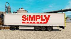 Скин Simply Market на полуприцепы