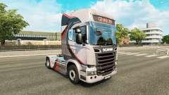 Скин GiVAR BV на тягач Scania
