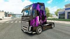 Скин Purple Tiger на тягач Volvo