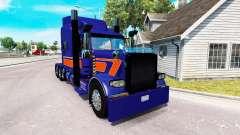 Скин Rollin Transport на тягач Peterbilt 389
