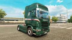 Скин Wallenborn на тягач Scania