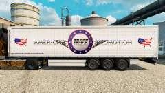 Скин American Truck Promotion на полуприцепы