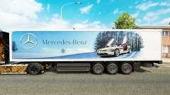 Скин Mercedes-Benz на полуприцепы