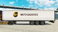 Скин UPS Logistics на полуприцепы
