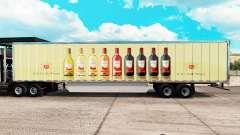Скин E & J Gallo Winery на удлинённый полуприцеп