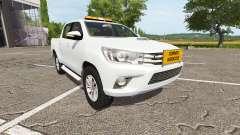 Toyota Hilux convoi agricole