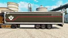 Скин Scania V8 на полуприцепы