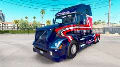 Скин Cargo Transporters на тягач Volvo VNL 670