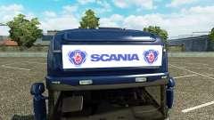 Рекламный световой короб для Scania Streamline
