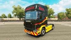 Скин Pirelli на тягач Scania