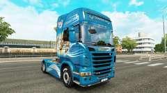 Скин The Griffon на тягач Scania