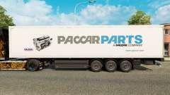 Скин Paccar Parts на полуприцепы