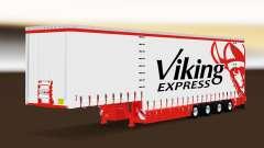 Шторный полуприцеп Krone Viking Express