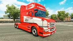 Скин S. Verbeek & ZN. на тягач Scania T