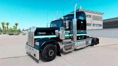 Скин Ervins Transport на тягач Kenworth W900