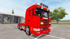 Scania 124L 440 agrar 6x4