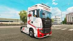 Скин Dukes Transport на тягач Scania R700