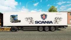 Скин Scania на полуприцепы