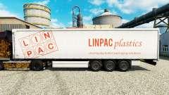 Скин Linpac Plastics на полуприцепы для Euro Truck Simulator 2