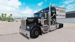 Скин Squirrel Logistics на тягач Kenworth W900
