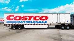 Скин Costco Wholesale на шторный полуприцеп