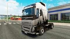 Скин Euro Express на тягач Volvo