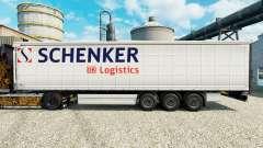 Скин Schenker Logistics на полуприцепы