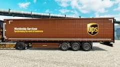Скин United Parcel Service Inc. на полуприцепы