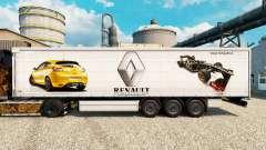 Скин Renault F1 Team v2 на полуприцепы