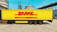 Скин DHL на полуприцепы