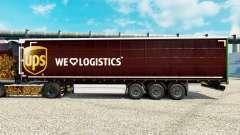 Скин UPS Inc. на полуприцепы