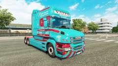 Скин Yates & Sons на тягач Scania T