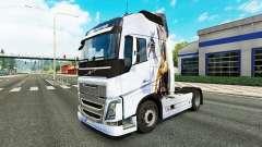 Скин Drache v1.1 на тягач Volvo