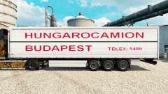 Скин Hungarocamion Budapest на полуприцепы