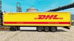 Скин DHL v2 на полуприцепы